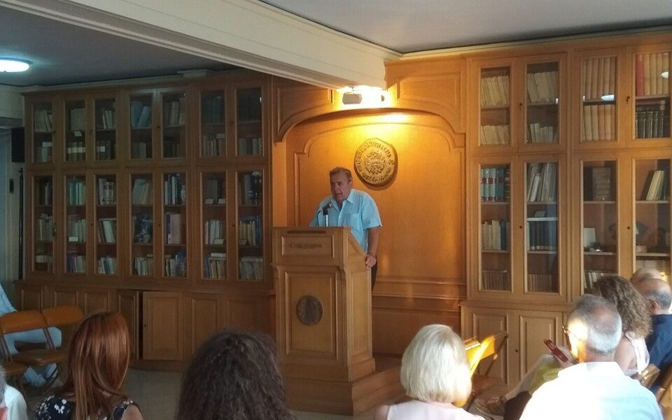 Ο Διευθυντής του περιοδικού ΕΝΔΟΧΩΡΑ Δημοτικός Σύμβουλος Θεσσαλονίκης κ. Γιάννης Κουρουνιάδης