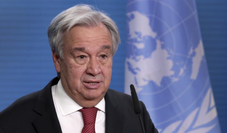 Ο Antonio Guterres δεν τυγχάνει πλέον της εμπιστοσύνης του Κυπριακού Λαού για να συνεχίσει να είναι Γενικός Γραμματέας του ΟΗΕ.